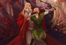 Elves, dwarves and Tolkien stuff