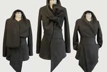 Statement Tie Fleece Knit Jacket with belt par ErinAlexandraKlym, $169.00