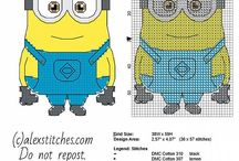 Cross Stitch - Minion
