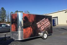 Trailer Wraps / Turn that trailer into a billboard. Let everyone know what you do with your trailer wraps & graphics.