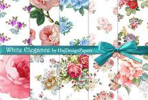 Floral Rose Pattern
