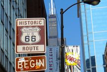 Chicago- Where the Road Begins / Things to see on Route 66 in Chicago, Illinois
