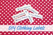 printing labels / by Helen LeBrett