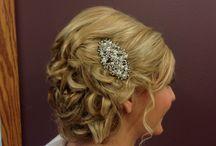 Bridal hair / Updo at Shear Style