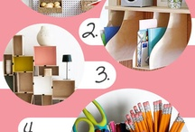 Nifty and thrifty / Clever storage and organisational ideas