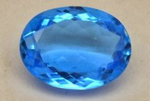 swiss Blue Topaz / Blue Topaz does occur in nature, but is rare and almost always light color. Colorless or lightly colored topaz goes through processes that create the blue color. Among the shade of blue topaz produced, one that is similar to purest aquamarine is Swiss blue topaz.