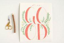 Elizabeth Street | Hand Lettering & Design / https://www.etsy.com/shop/ElizabethStLettering / by Liz Tubman