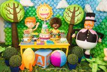 Cenário - Mundo Bita / Uma linda parceria com o maravilhoso Mundo Bita que encanta crianças e adultos.