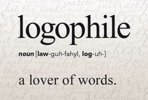 "LOGOLEPSY / logolepsy(Noun) A fascination or obsession with words  Origin: Logos is Greek for ""word"", lepsy is Greek, ""to seize"""