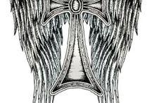 St Michael tattoos