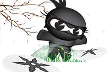 Ninjas...Obviously  / by Ninja Roshni