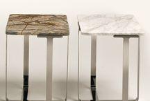 mesas com marmore