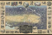 Golden Age of American Pictorial Maps / Maps featured in the 2016 Pictorial Map exhibition at Osher Map Library, curated by Stephen J. Hornsby.