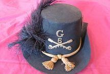 Headgear from US Civil War 1861 - 1864