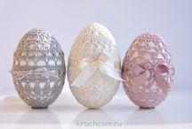 Crochê - ovos