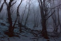 Eerie fog