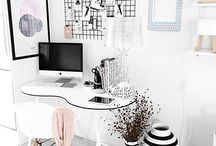 HOME / OFFICE / Inspiration for an office space.