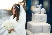 Real Weddings {Wintery Wonderlands} / Engaging Affairs winter weddings with lots of gorgeous frosty details!