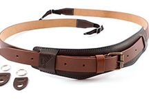 Sella Leather Camera Neck Strap