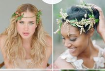 Hair styles and adornments