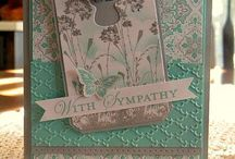 Stampin' Up! Sympathy cards