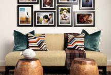 Portarretratos pared