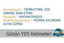 YDS Hazırlık / YDS Hazırlık aşamasında faydalanabileceğiniz pano.