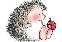 ježečci a myšky