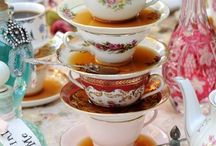 Cups&Saucers,plates,serving dishes etc
