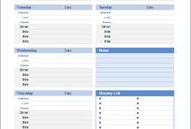 Misc List Templates