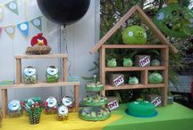 Harry's Angry Bird Birthday Party