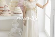 wedding dress with sleeves for kids