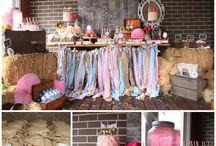Cowgirl Baby Shower / by Kelley Carter