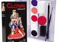"Clown Makeup / What do you say to a sleepy face? ""Make up!"""