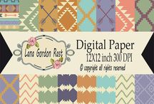 Paper Crafts Scrapbooking / Paper crafts and designs, digital papers, cards, invitations, gift tags, scrapbooking