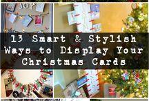Christmas DIY / DIY, how-to, tips and inspiration for beautiful Christmas art and decor.