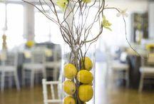 Grey&yellow wedding