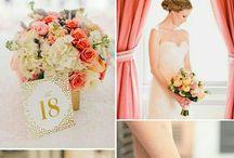 Paleta colores boda