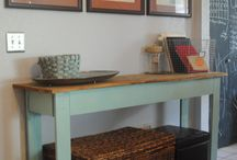 entry table / by Christopher Borneman