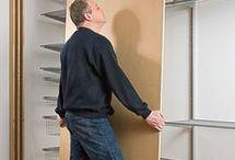 Gardrób szekrény