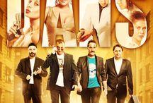Çakallarla Dans / Çakallarla Dans (Dance with the Jackals). A popular crime comedy from Turkey.