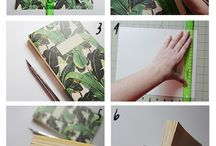notitie boek diy