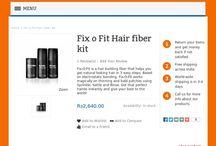 Fix-O-Fit Hair Fiber & Fiber Holding Spray