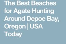 agate hunting