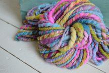 Hand Spun Yarn Inspiration