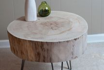 Real wood table