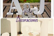Letras / Gisha decoraciones te ofrece todo tipo de letras para cualquier ocasión u lo mejor que se ajuste a tu presupuesto y que sea tu propio estilo Llámanos y pide tu presupuesto  Totalmente GRATIS  680133097-654221375