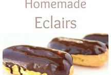 eclairs and other pasteries i love