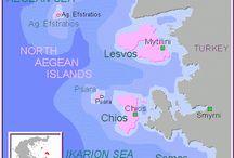 1. E//Grecia//North Aegean Islands / Islas del Egeo Norte Este archipiélago esta formado por las islas de Ikaria, Lesvos (capital Mitilini), Limnos, Samos y Chios.