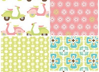 cool fabrics and prints / by Jenn Davis